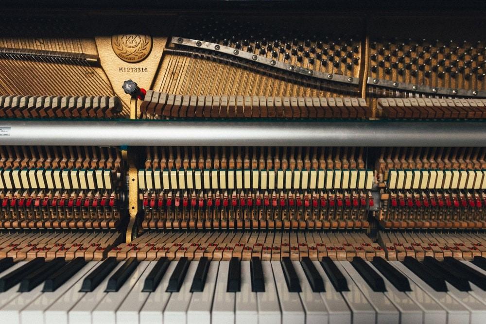 binnenkant piano
